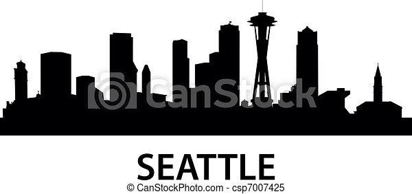 Skyline Seattle - csp7007425