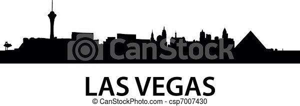 Skyline Las Vegas - csp7007430
