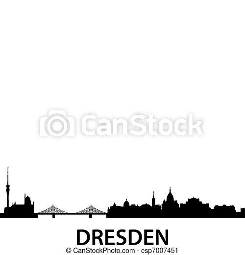 Skyline Dresden - csp7007451