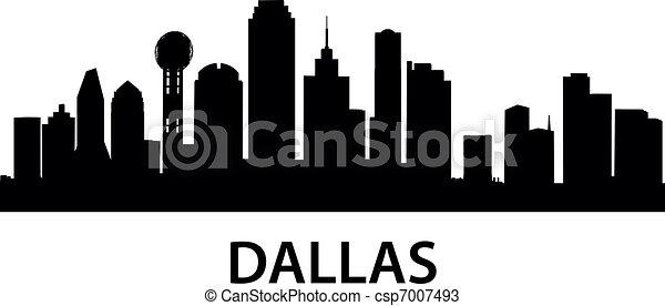 Skyline Dallas - csp7007493