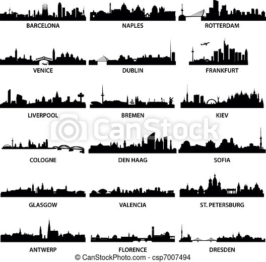 European City Skylines - csp7007494
