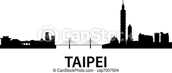 Skyline Taipei - csp7007504