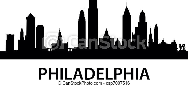 Skyline Philadelphia - csp7007516