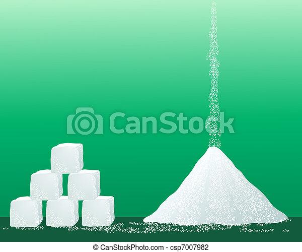 sugar granules - csp7007982