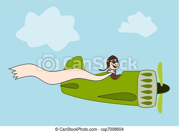 Funny pilot - csp7008604