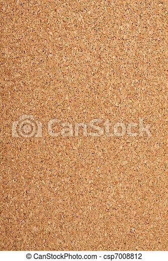 Brown cork texture.