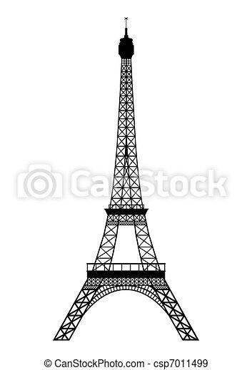 Tour Eiffel - csp7011499