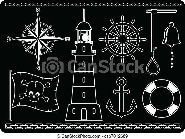 Nautical Icons - csp7012689