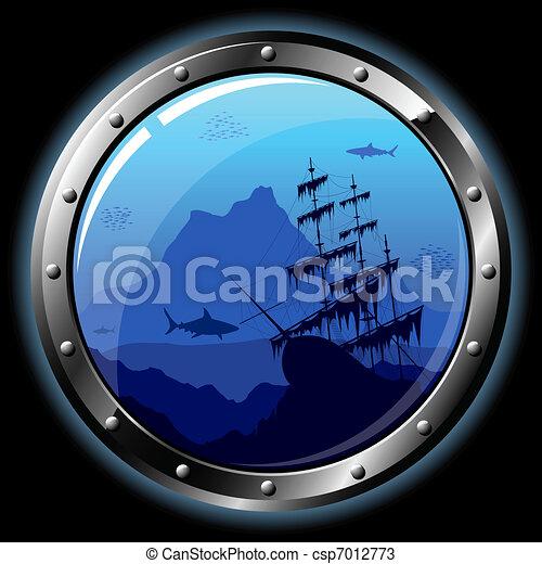 Steel porthole - csp7012773