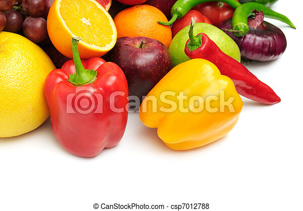 fruits and vegetables - csp7012788