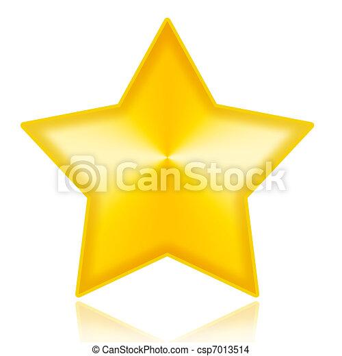 Golden Star - csp7013514
