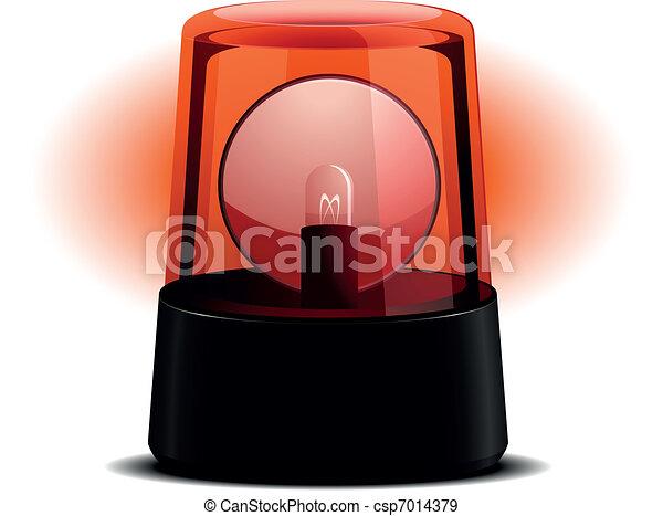 Flashing Light - csp7014379
