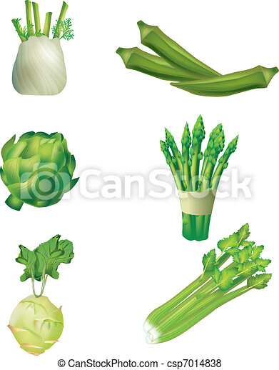 Set of  vegetables - csp7014838
