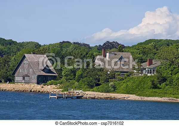 Cape Cod Shoreline - csp7016102