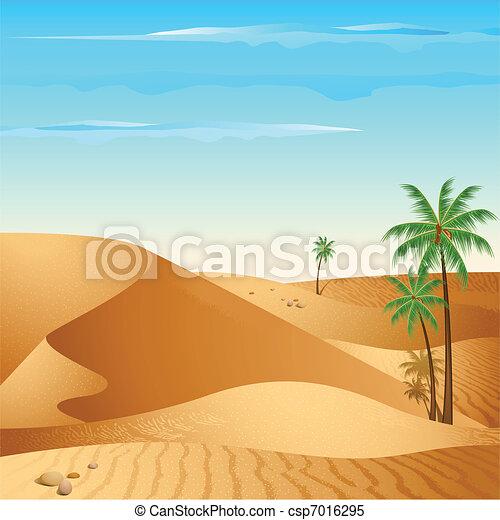 Lonely Desert - csp7016295
