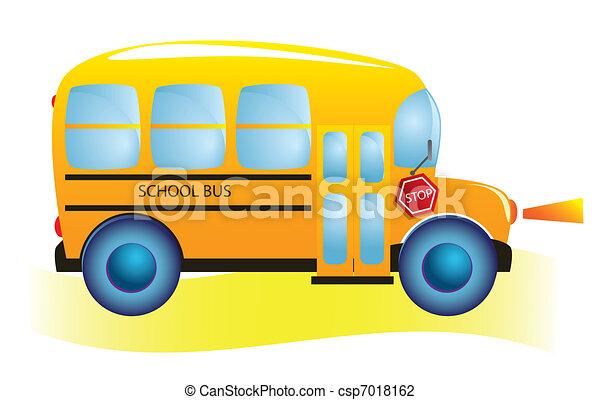 School bus - csp7018162