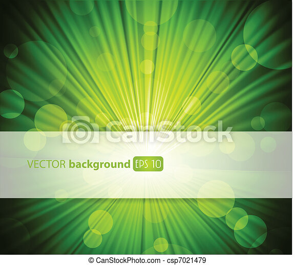 Abstract green background with place for your text. - csp7021479