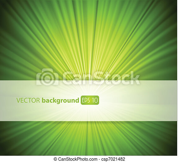 Abstract green background with place for your text. - csp7021482