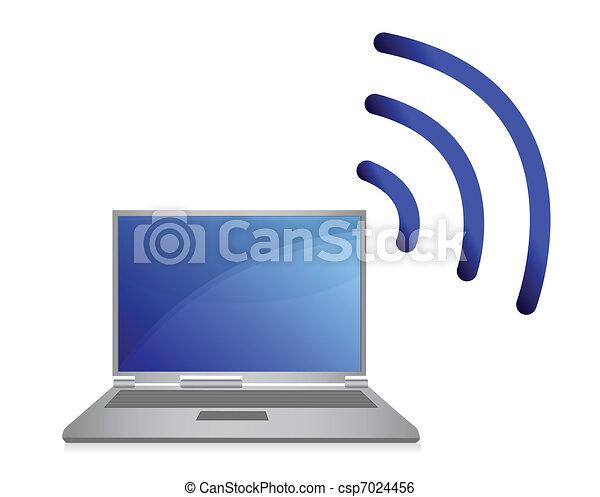 wireless network, wi-fi  - csp7024456