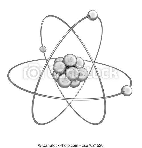Archivio illustrazioni di atomo 3d illustrazione di for Disegno 3d free
