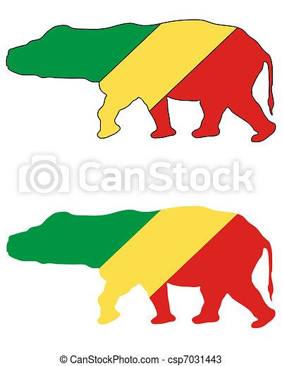 Hippo Congo - csp7031443