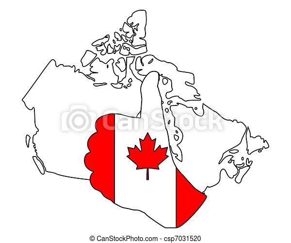 Canadia hand signal - csp7031520