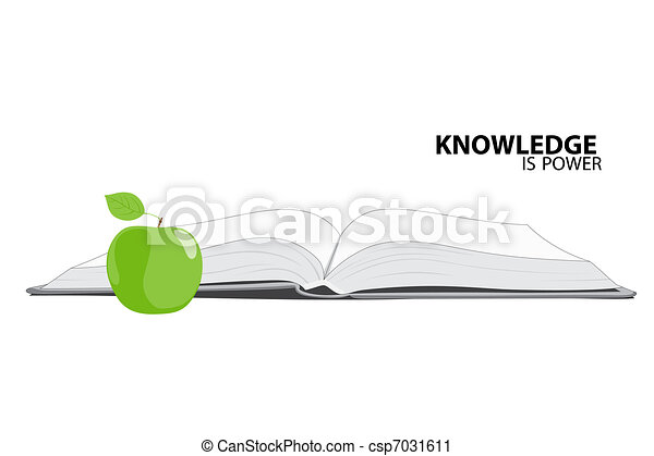 Knowledge is power - csp7031611