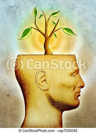 Growing idea - csp7035042
