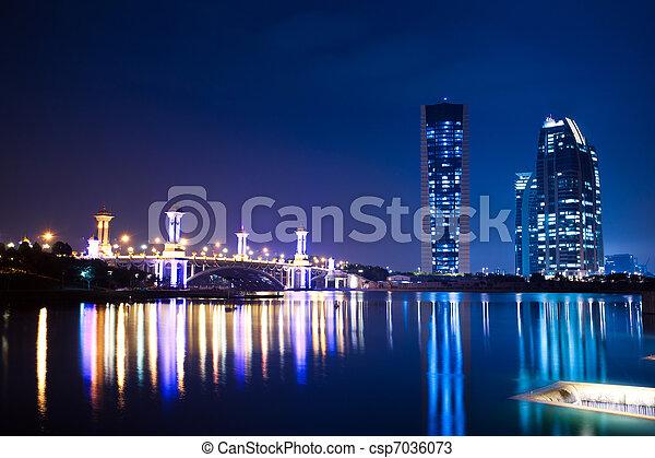 Putrajaya, Malaysia Cityscape - csp7036073