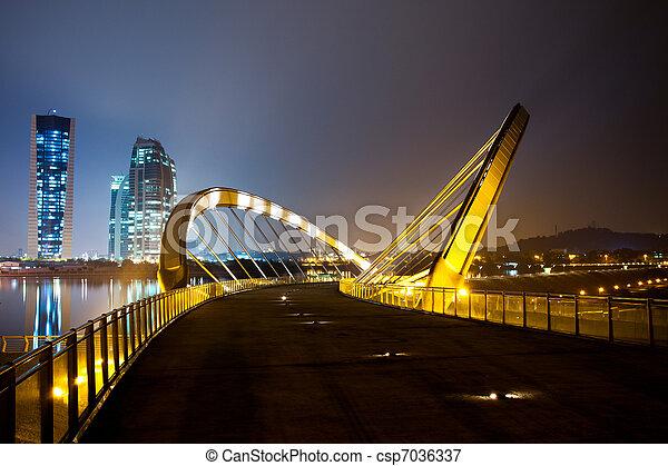 Putrajaya, Malaysia Cityscape - csp7036337