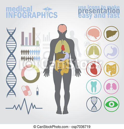Medical infographics - csp7036719