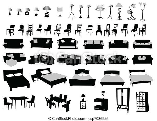 Clip Art Modern Chairs