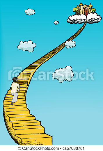 Stairway To Heaven - csp7038781