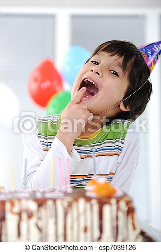 Happy birthday to you! - csp7039126
