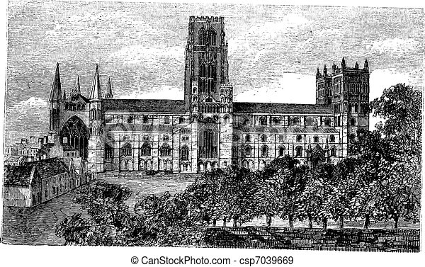 Durham Cathedral Drawings Durham Cathedral in England