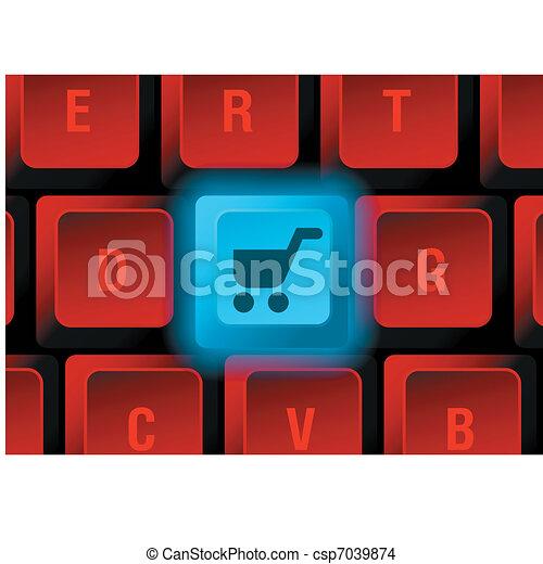 keyboard button - csp7039874