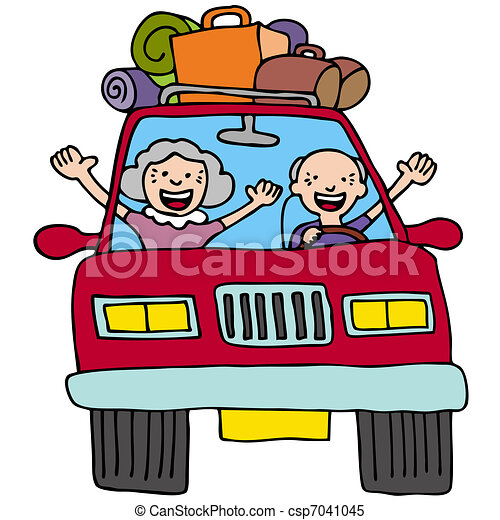 Clip Art Road Trip Clip Art road trip illustrations and stock art 19367 seniors an image of a senior couple in car