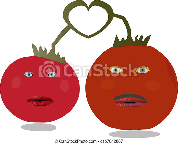 Tomato Relationship - csp7042867