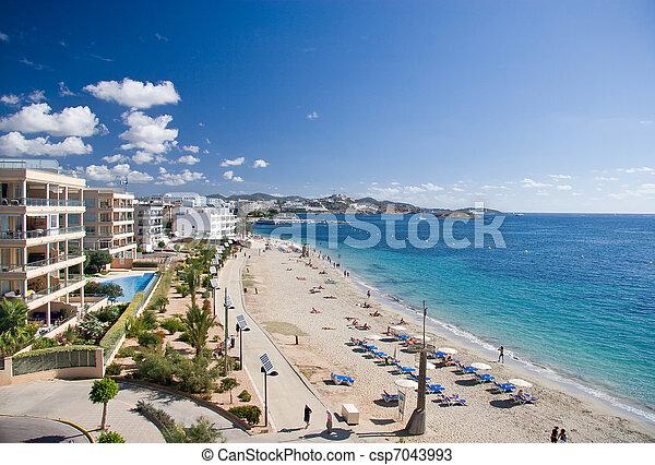 Ibiza Coast (Eivissa) - csp7043993