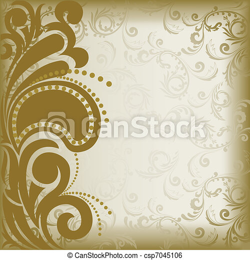 Brown asymmetric background - csp7045106