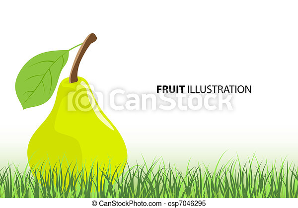 Green pear - csp7046295