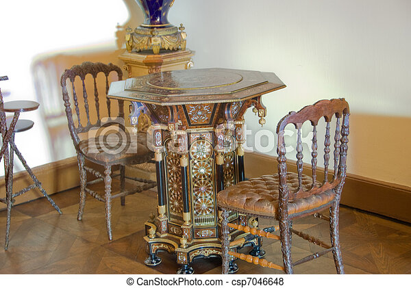 Old Furniture Collection - Dolmabahche Palace