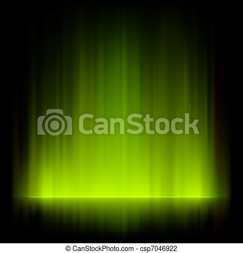 Abstract fire lights vector background. EPS 8 - csp7046922