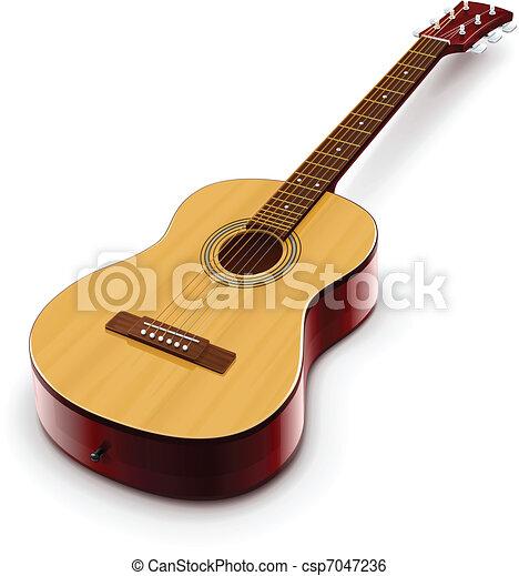 acoustic classic guitar - csp7047236