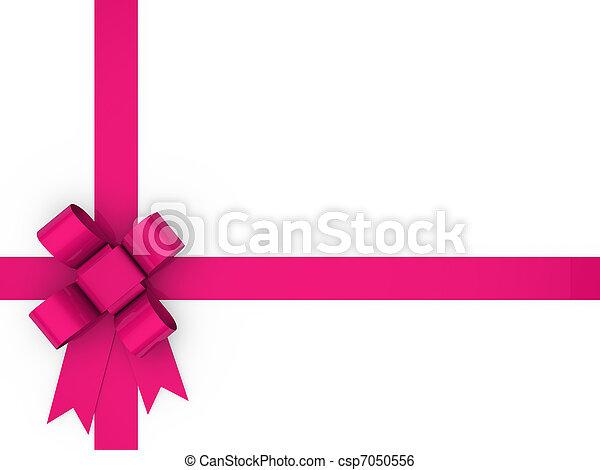 3d loop pink - csp7050556