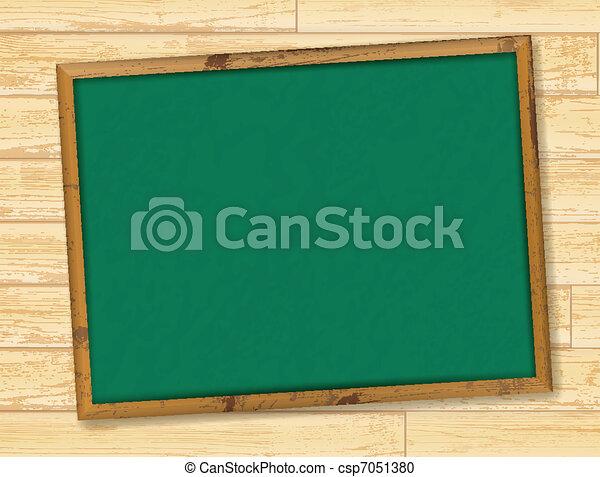 school blackboard - csp7051380