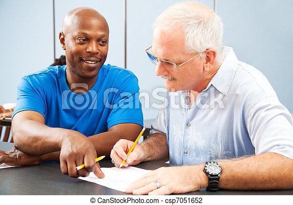 Adult Ed - Homework Help - csp7051652