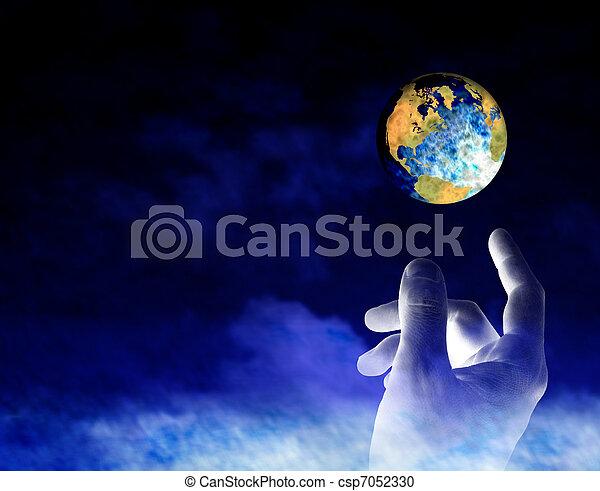 Earth Creation - csp7052330