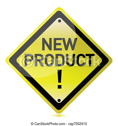 New product sign - csp7052410