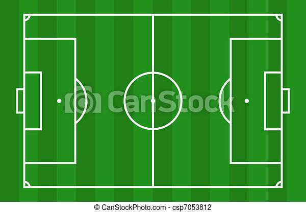 Soccer field - csp7053812